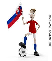 slovaque, joueur football