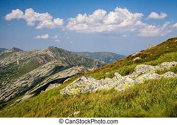 slovaquie, bas, montagnes, tatras