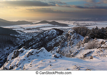 Slovaquie, hiver, paysage