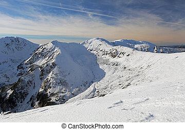slovaquie, nature, montagne, -, tatras