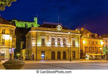 Slovene Philharmonic Orchestra in Ljubljana