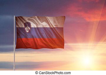 slovenië vlag