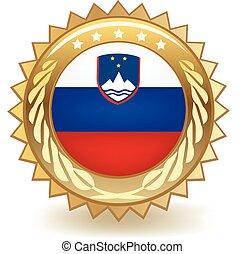 Slovenia Badge