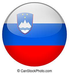 Slovenia Button
