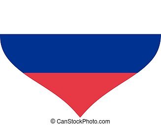 Slovenia flag heart
