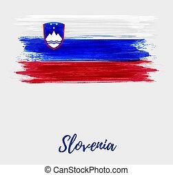 slovenia, independência, e, unidade, dia, feriado,...