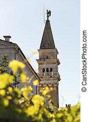 slovenia, piran-, igreja