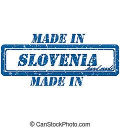 slovenia stamp