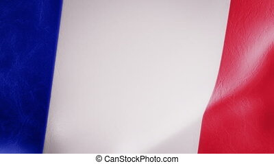 Slow Motion French Flag Intro