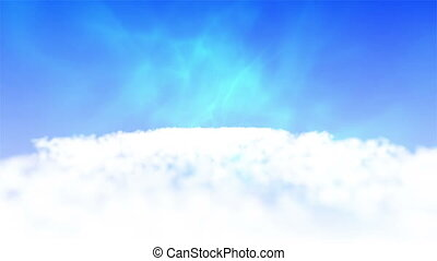 Slow motion videos on clouds