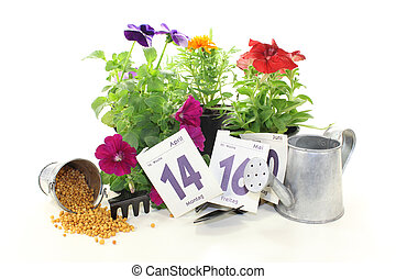 slow-release Fertilizer with calendar