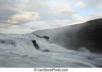 Slow shutter Gulfoss