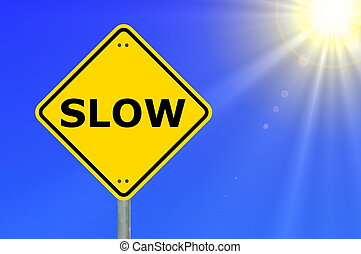 slow speed is more secure to achive your goals...
