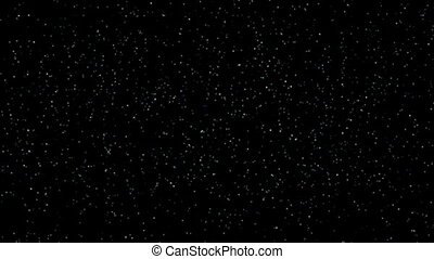 Slowly flickering star background