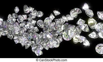 slowmo, couler, loopable, diamants
