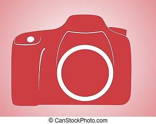 SLR camera logo