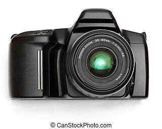 SLR Camera - black SLR camera