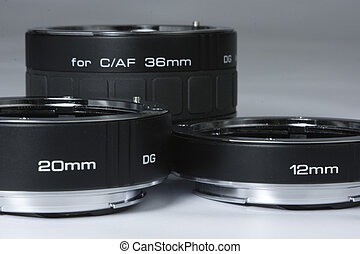 SLR extension tubes close up
