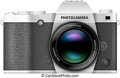 SLR retro camera