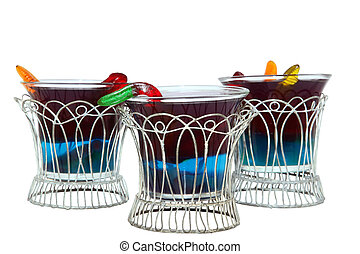 Sludge Cups with Clipping Path