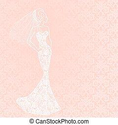 sluier, bruid