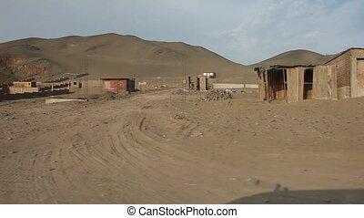 Slums, Lima, Peru