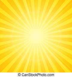 sluneční paprsky, grafické pozadí