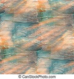sluneční světlo, umění, mazat, barva vodová, oplzlý...