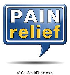 smärta lättnad