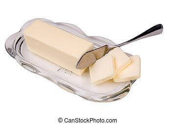 smör rätt, glas