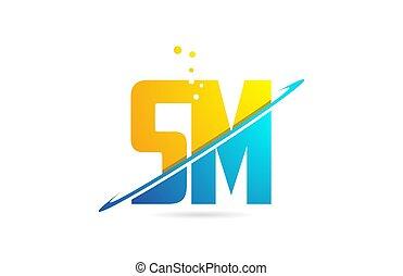 sm, combinaison, alphabet, compagnie, m, s, conception,...