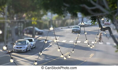 SM-Traffic-shift - This is an artsy, selective focus shot of...