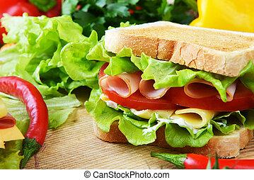 smakowity, sandwicz