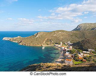 Smal fishing village in Mani, Laconia, Greece - Fishing ...