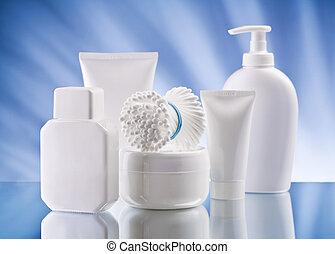 smal set of skincare items