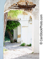 small architectural form-Ruins