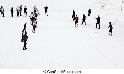 Small attack one of teams at the Winter Championship of...
