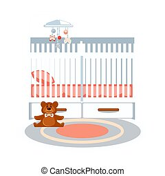 Small baby bedroom