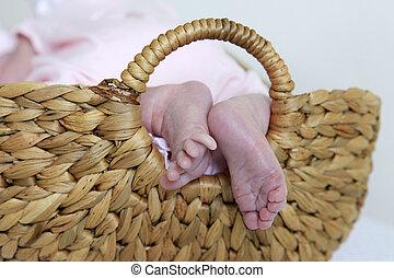 Small baby legs