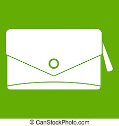 Small bag icon green