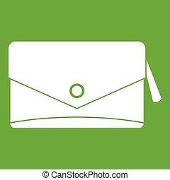 Small bag icon green