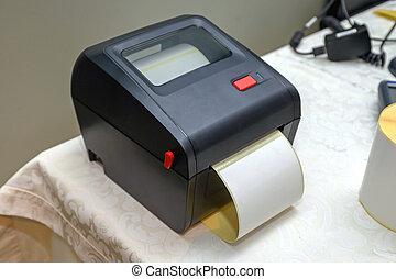 Small Bar Code Printer