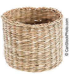 Small Basket on white