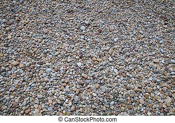Small beach pebbles