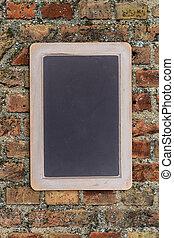Small black chalkboard