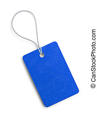 Small Blue Tag