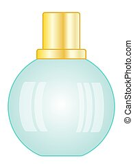Small bottle illustration - Illustration of the small...