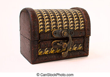 small box in the form of a chest