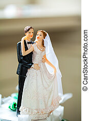 bridal couple figurine - small bridal couple figurine for...