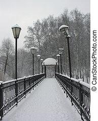 Small bridge.